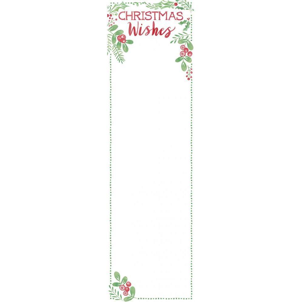 Christmas - List Notepad Christmas Wish