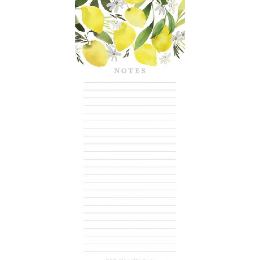 Shopping List - Lemon Blossom
