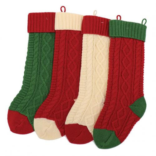 Seasonal Christmas - Cable Knit Stocking