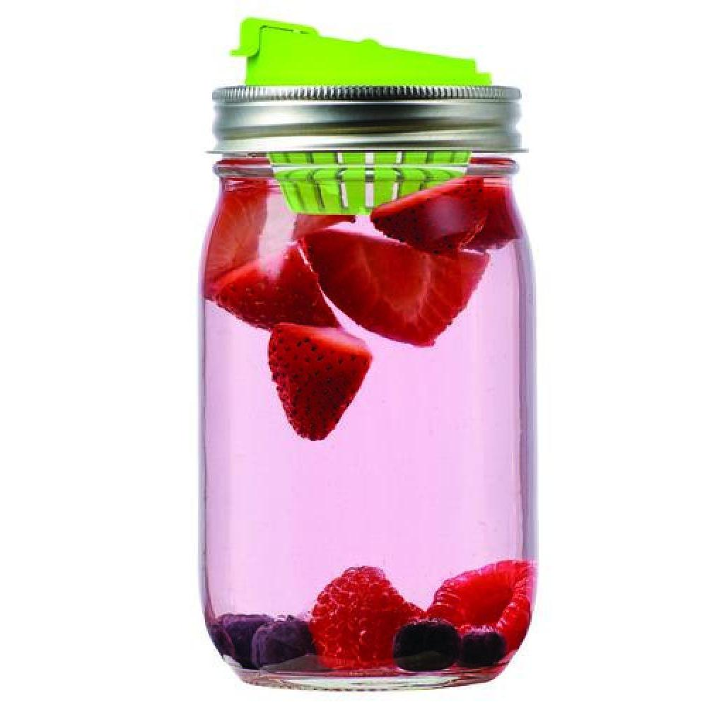 Jarware Lid Regular-mouth Drinking Spout With Infuser