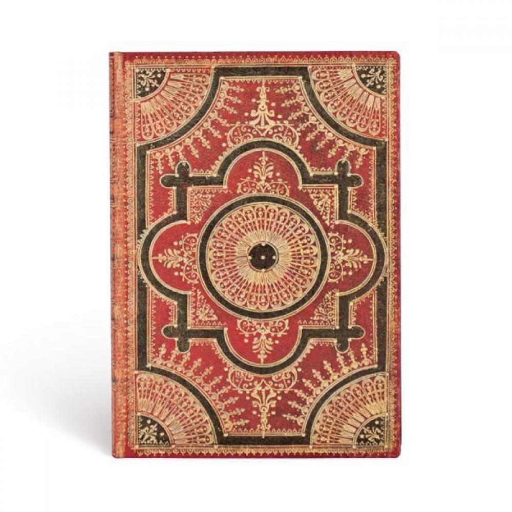 Journal - Ultra - Lined - Ventaglio Rosso Kraft