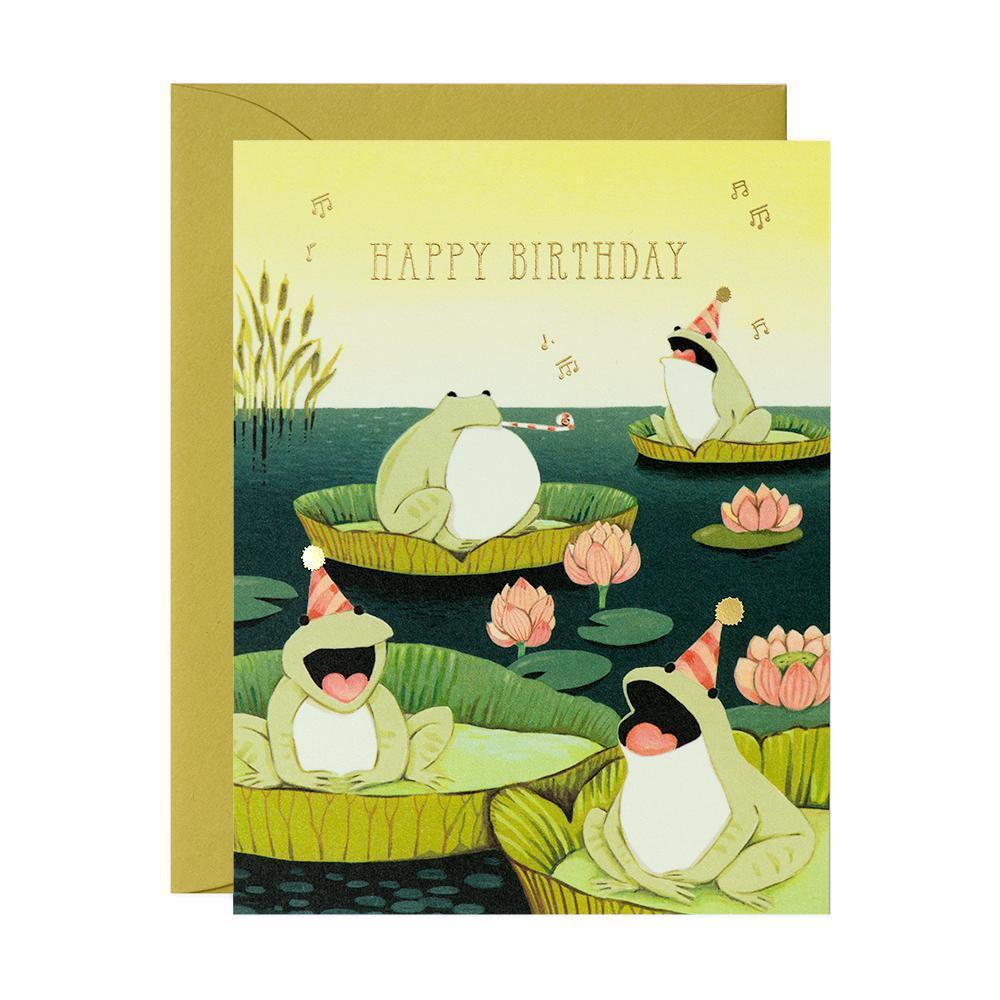 Birthday - Singing Frogs