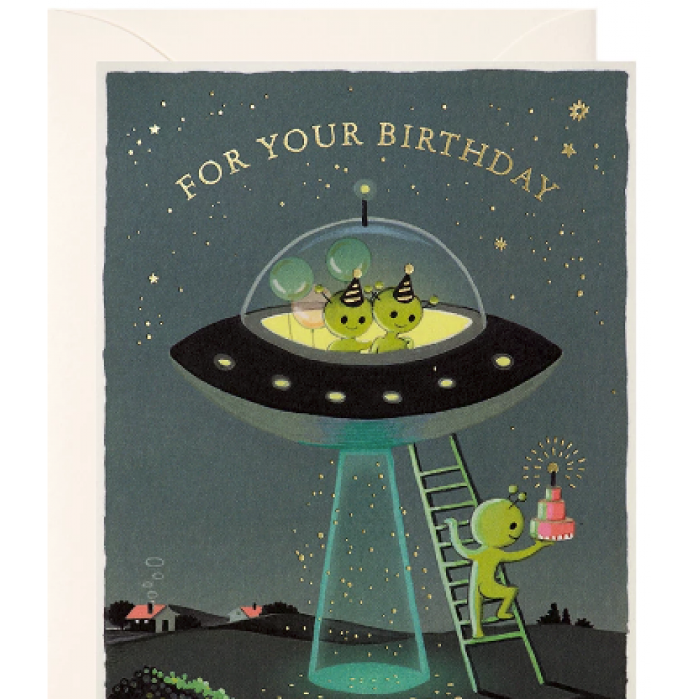 Birthday - Aliens