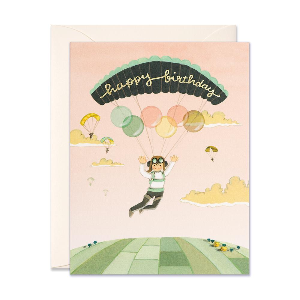 Birthday -paraglider