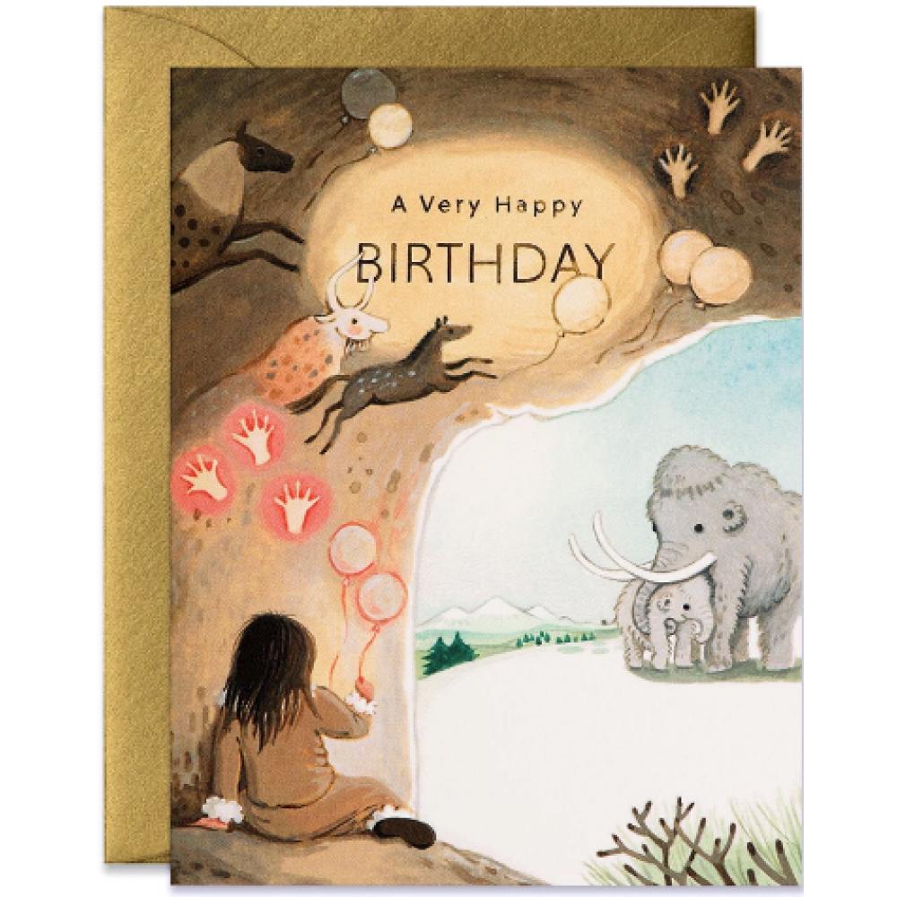 Birthday -  Caveman
