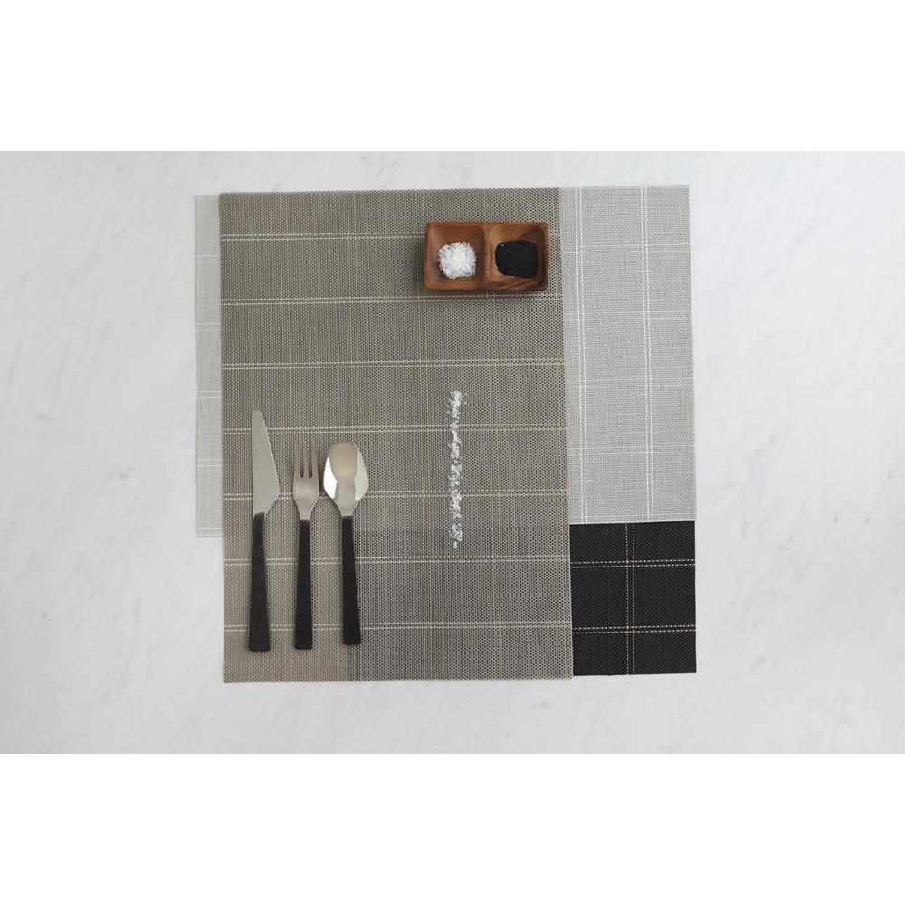 Place Mat - Window Pane Vinyl - Denim