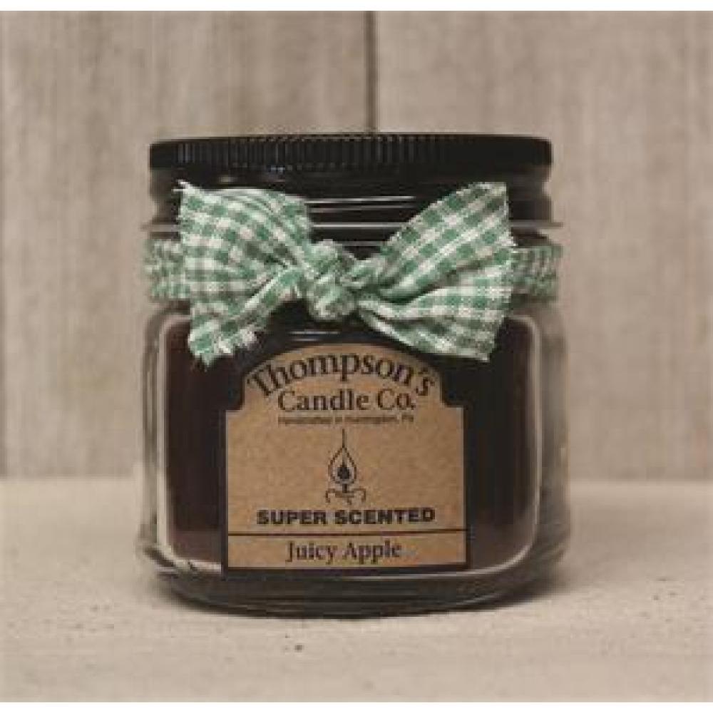 Mini Mason Jar Candle 6 Oz - Juicy Apple