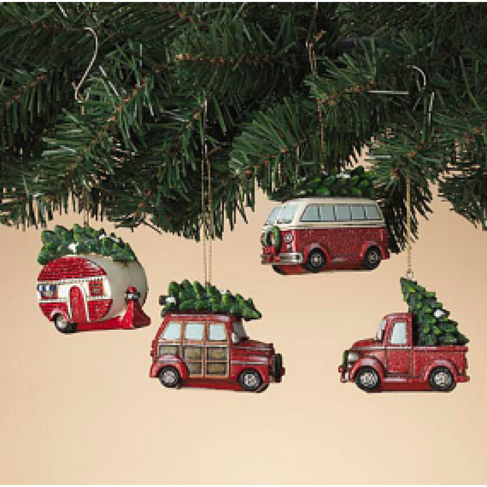 Ornament - Holiday Vehicle