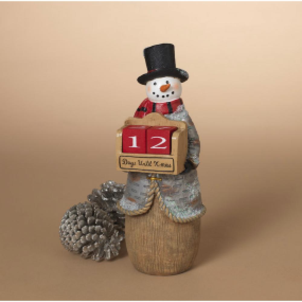 Countdown Calendar - Snowman