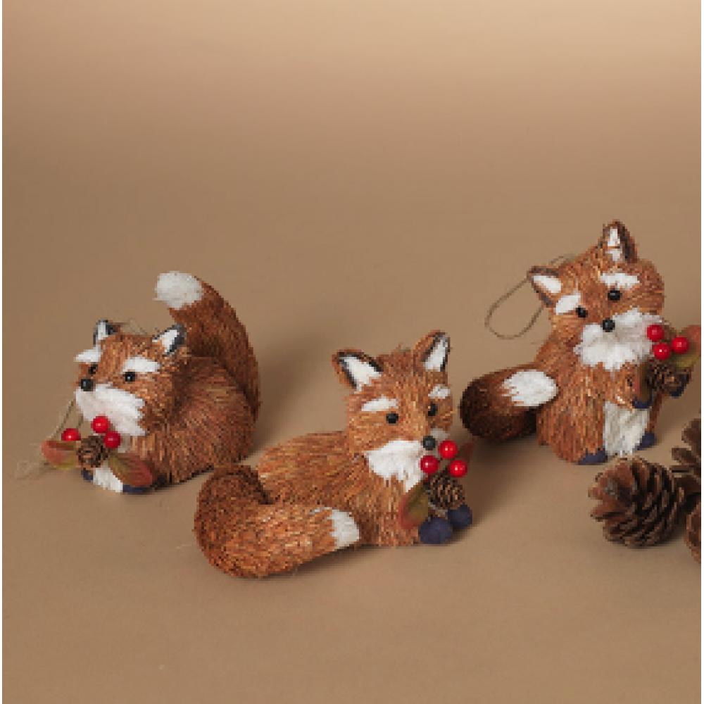 Harvest Fox Figurine