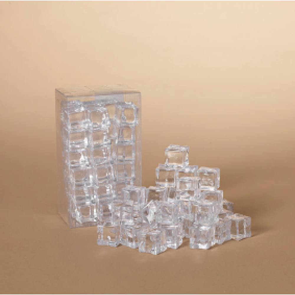 Clear Acrylic Ice Cubes
