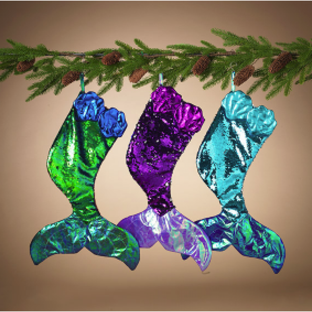 Stocking - Reversible Sequin Mermaid