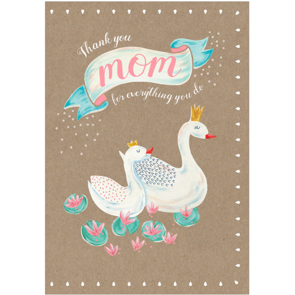 Mothers Day - Swan