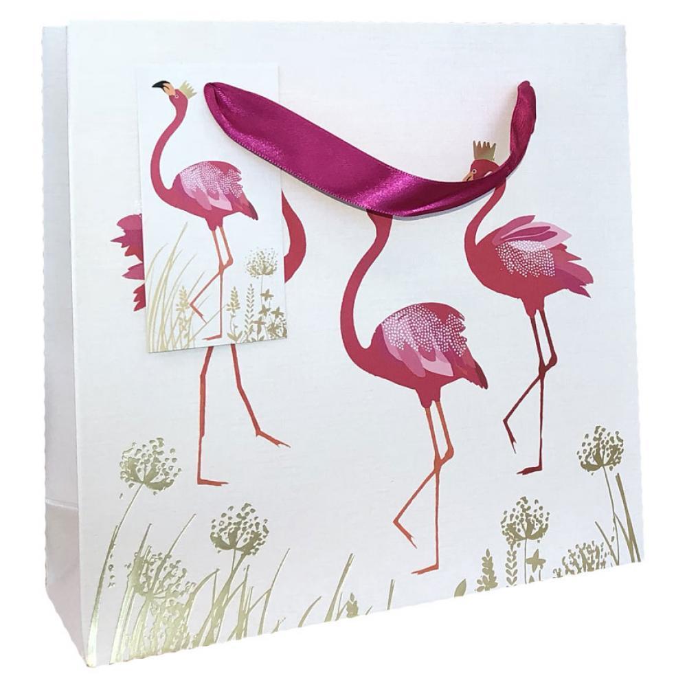 Gift Bag - Med - Flamingo