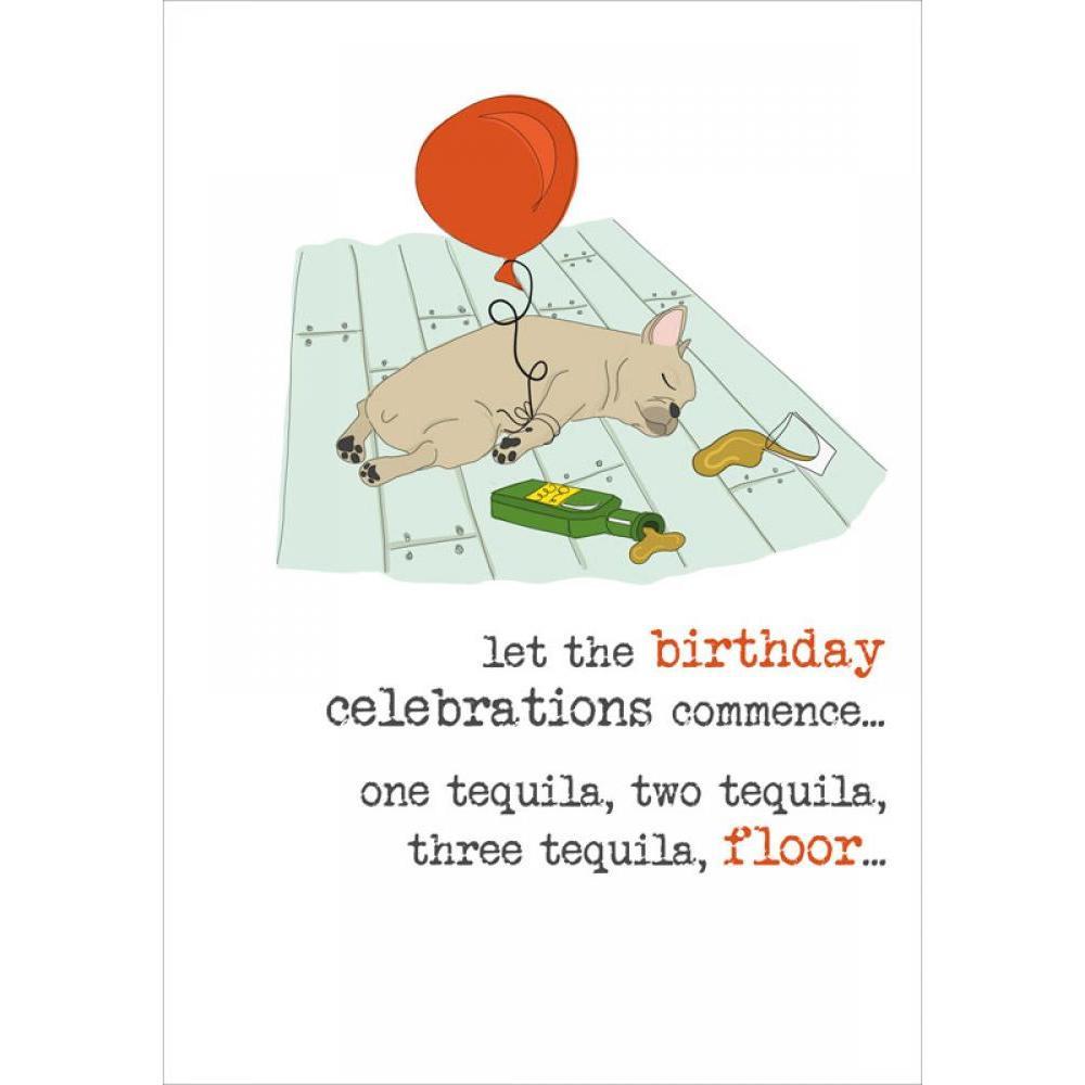 Birthday - Tequila