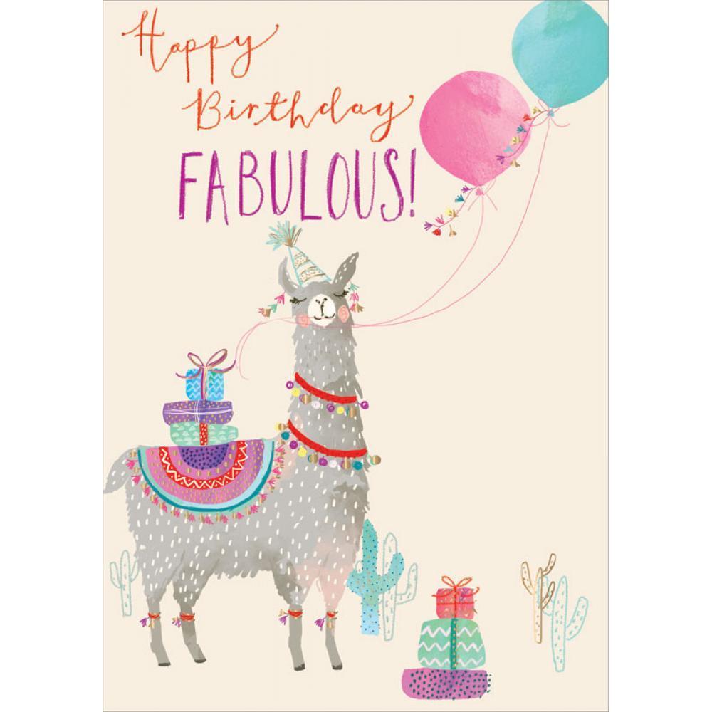 Birthday - Llama Fab