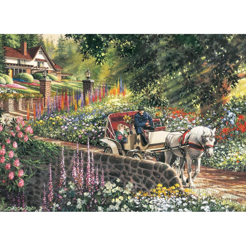 Cobble Hill Easy Handling Puzzle 275 Piece Carriage Ride