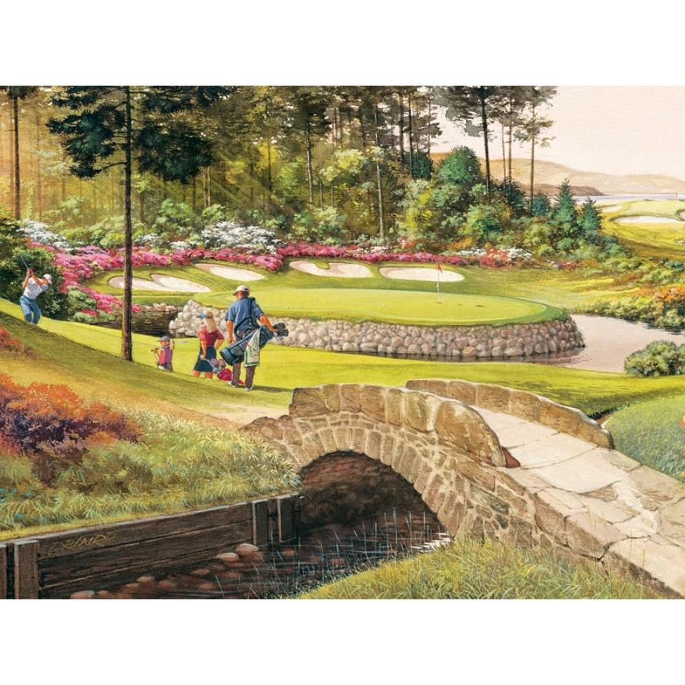 Cobble Hill Easy Handling Puzzle 275 Piece Golf Course
