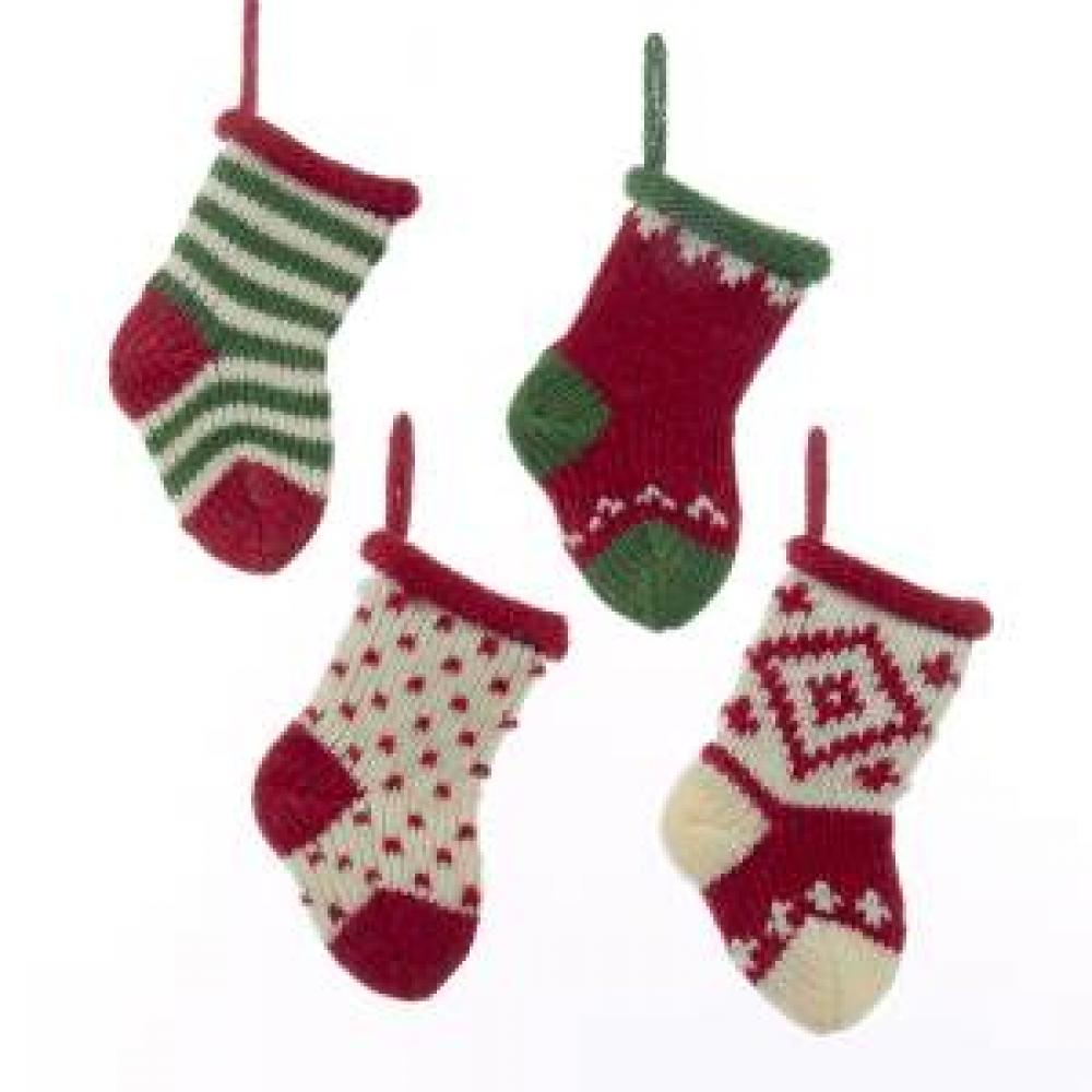 Stocking - Knit 4 Asstd Mini