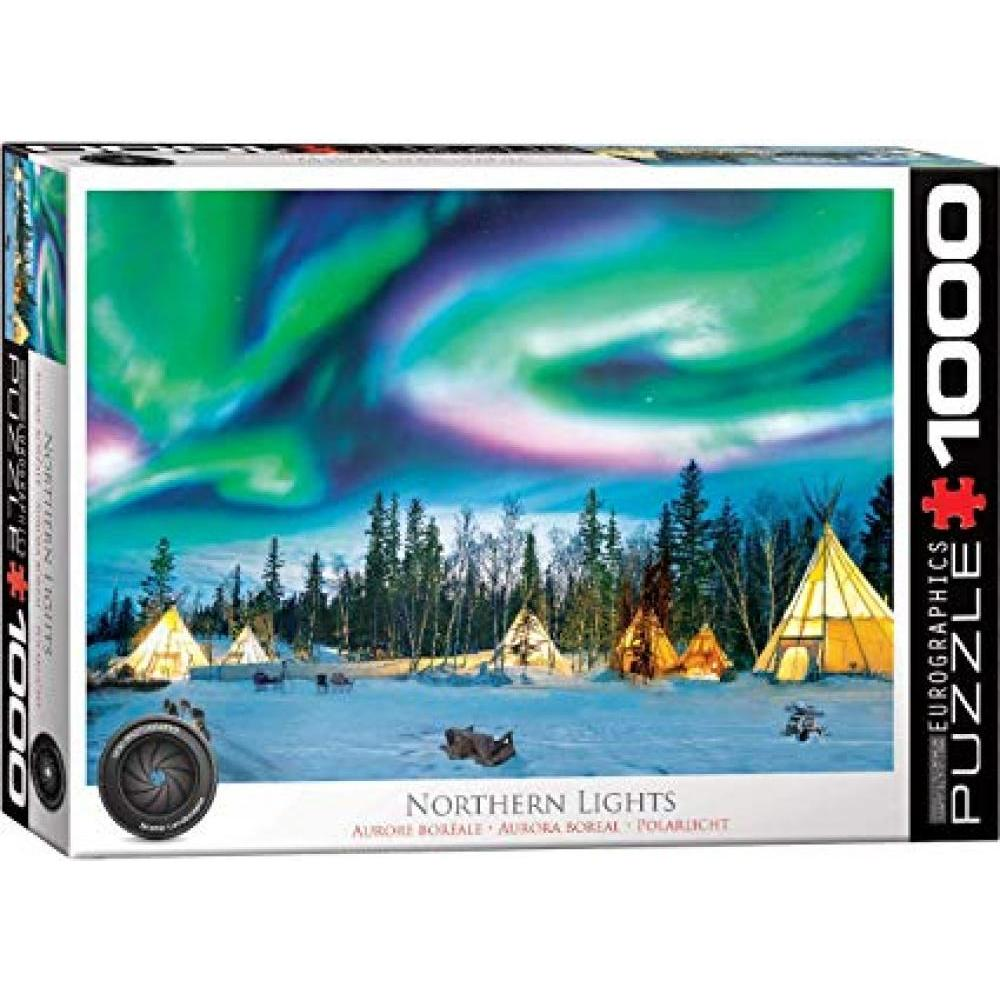 Puzzle 1000 Piece Northern Lights Yellowknife