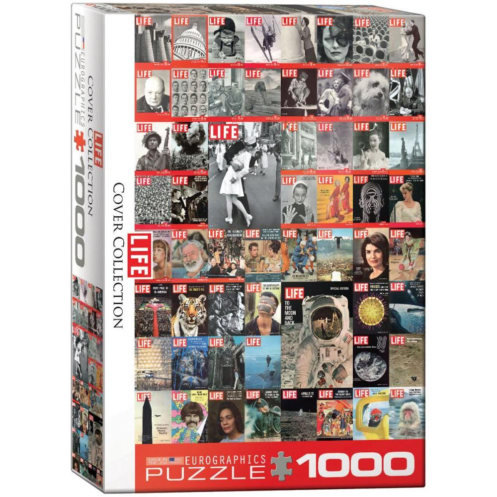 Puzzle 1000 Piece Life Cover Collection