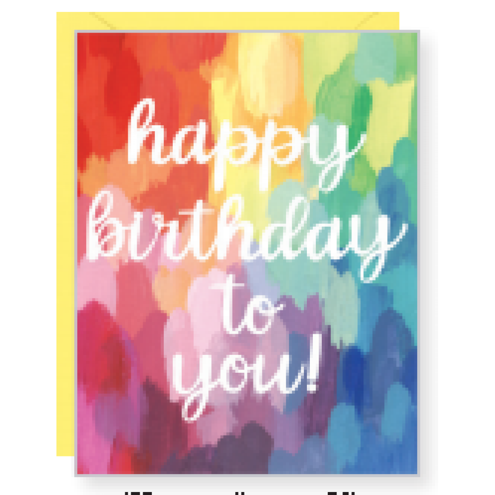 Birthday - Painted Bday