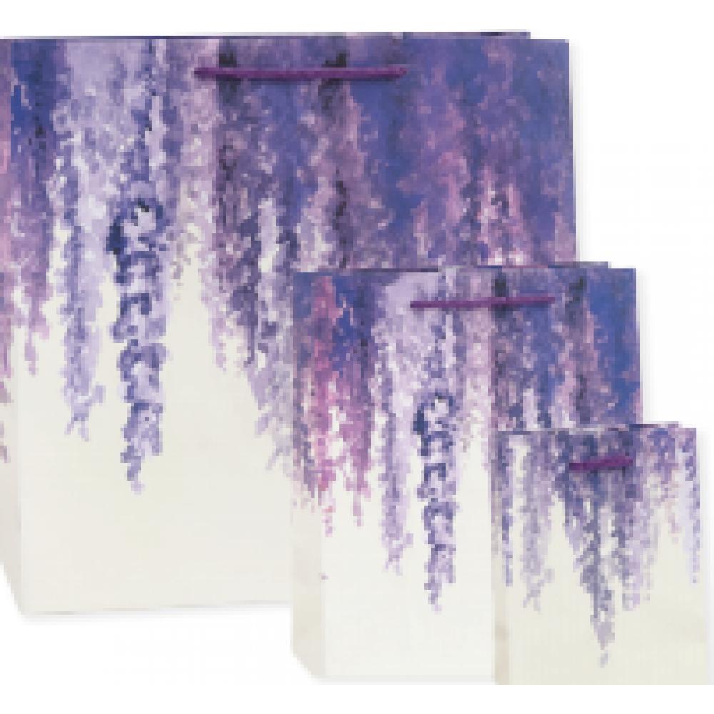 Gift Bag - Small - Lavendar Wisteria