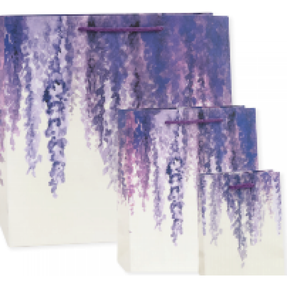 Gift Bag - Medium - Lavendar Wisteria