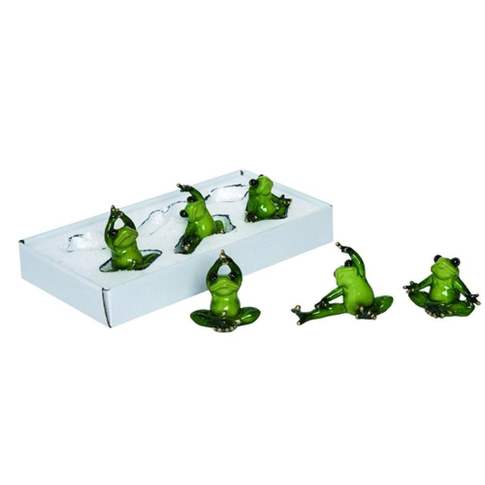 Res Enchanted Yoga Frog Assorted (sold Individually)