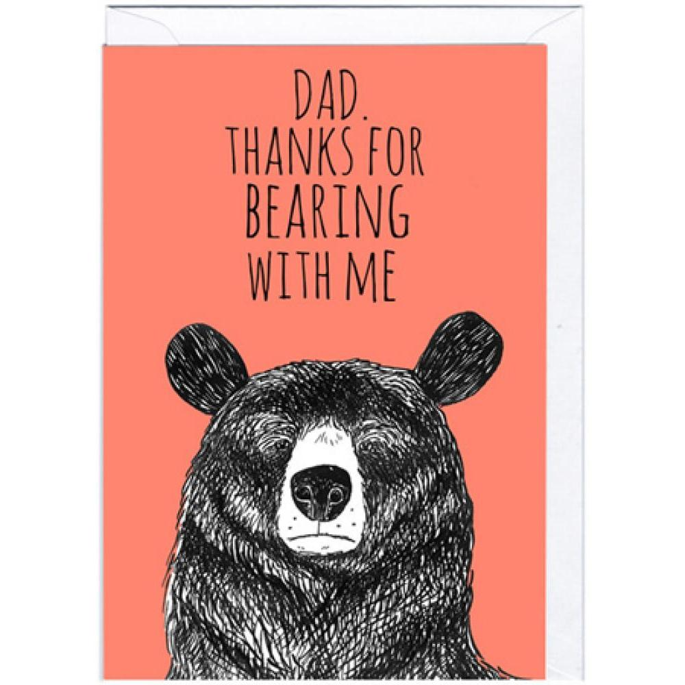 Fathers Day - Bearing With Me