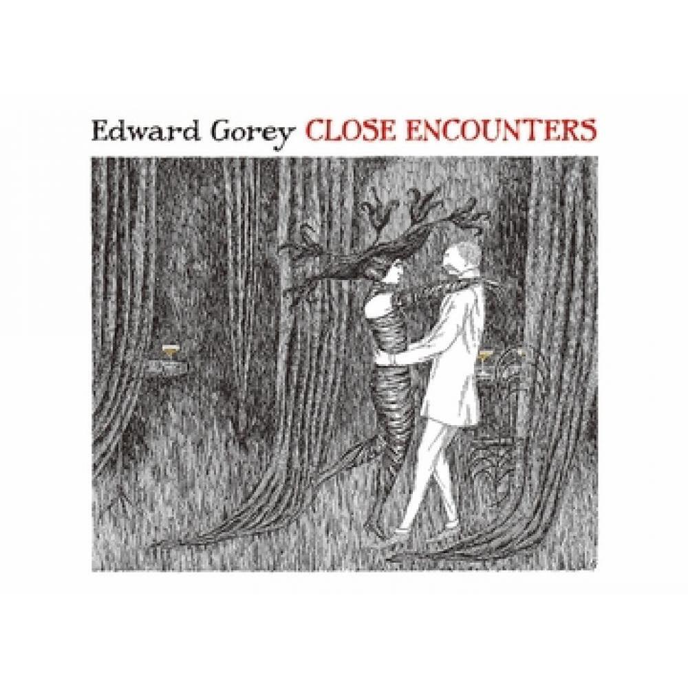 Boxed Card - Edward Gorey Close Encounters