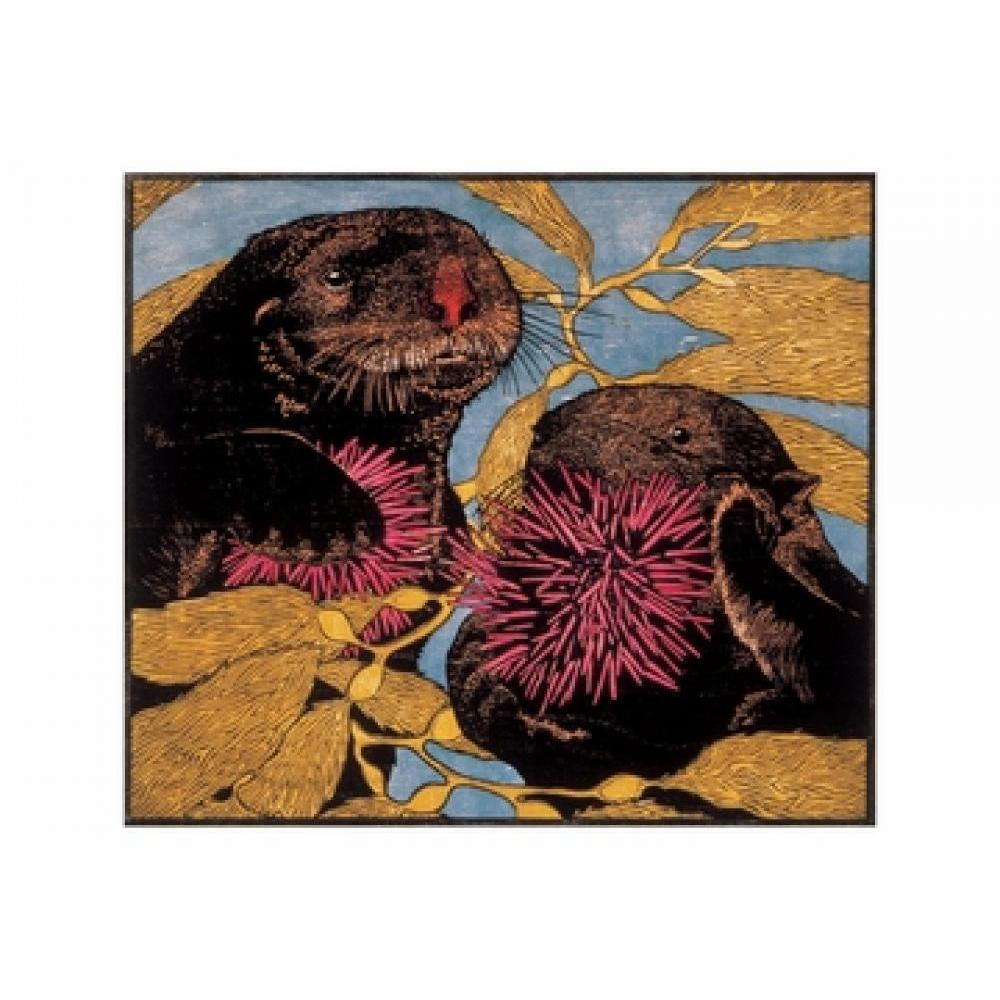Boxed Card - Andrea Rich - Sea Otters