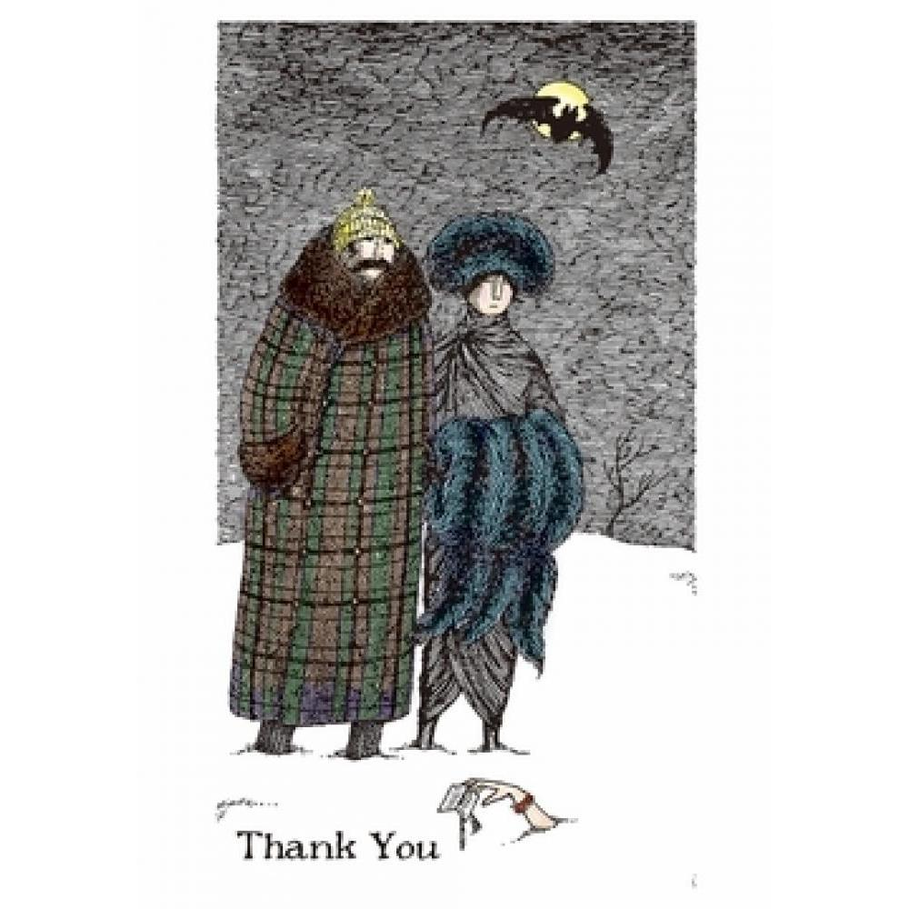 Boxed Card - Thank You - Edward Gorey - Thank You Notes