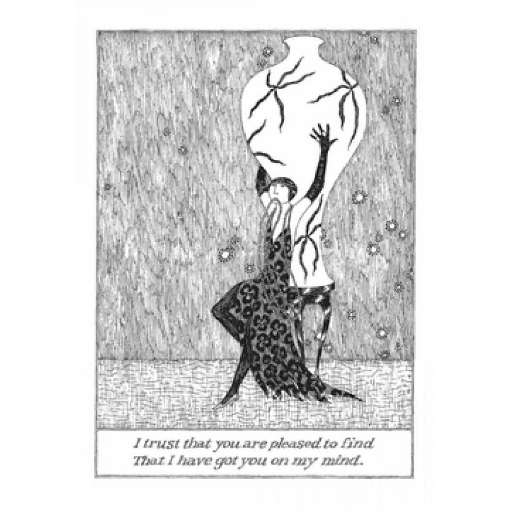 Any Occasion - Edward Gorey - I Trust That You Are Pleased To Find