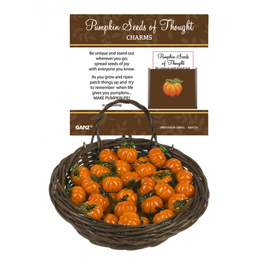 Pocket Charm - Seed Of Thought Pumpkins