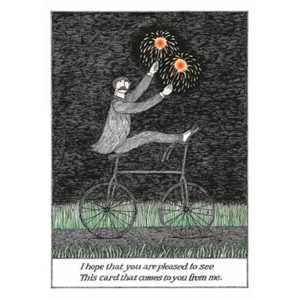 Birthday - Edward Gorey - Pleased To See
