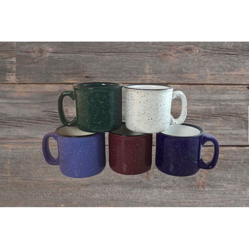 Mug - Speckle Enamel Campfire Mug - Blue