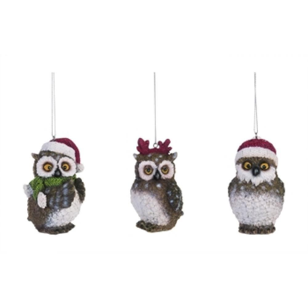 Ornament - Holiday Owl