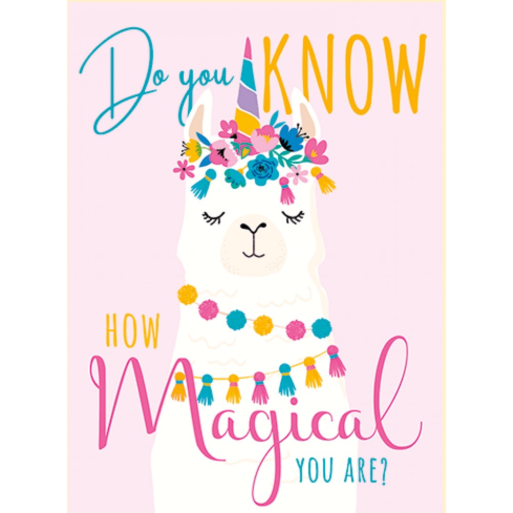 Birthday - Magical Llama