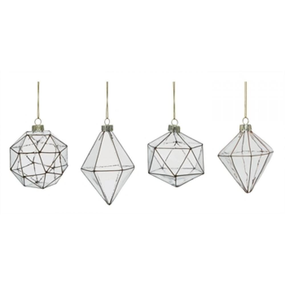 Ornament - Glass Faceted