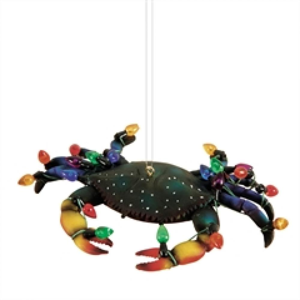 Ornament - Holiday Blue Crab