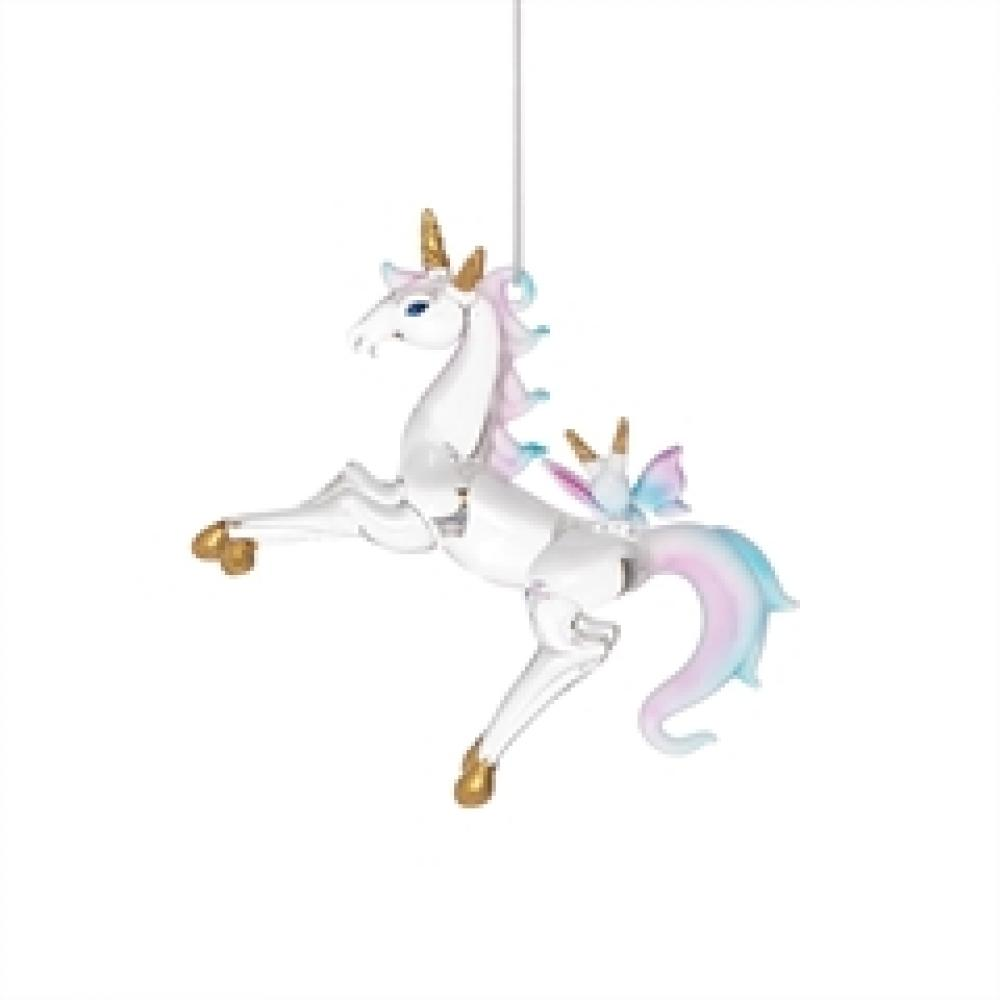 Ornament - Glass Unicorn