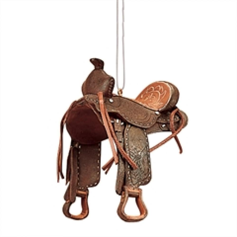 Ornament - Western Saddle