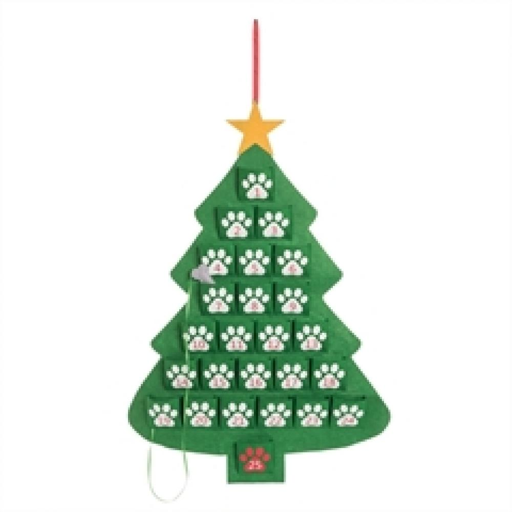 Advent Calendar - Paw Print Tree