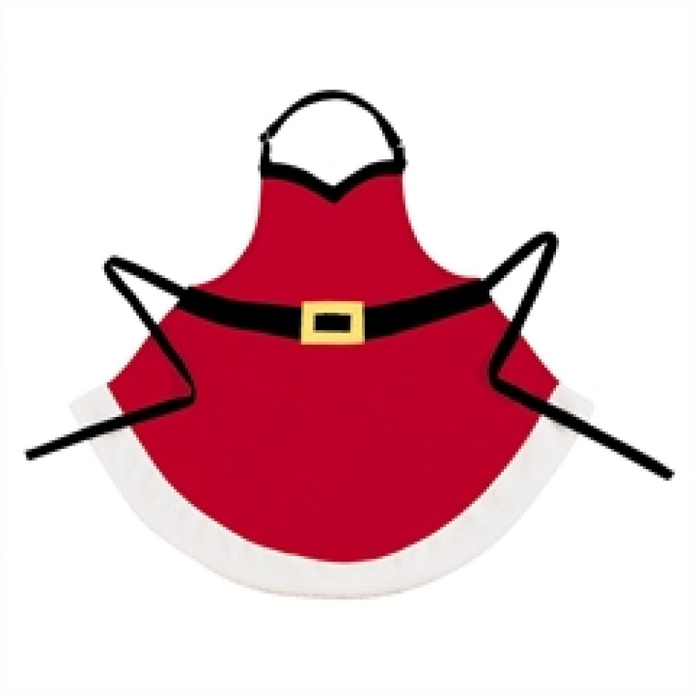 Apron - Velvet Santa