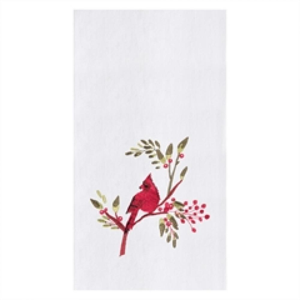 Christmas Decor - Cardinal Towel