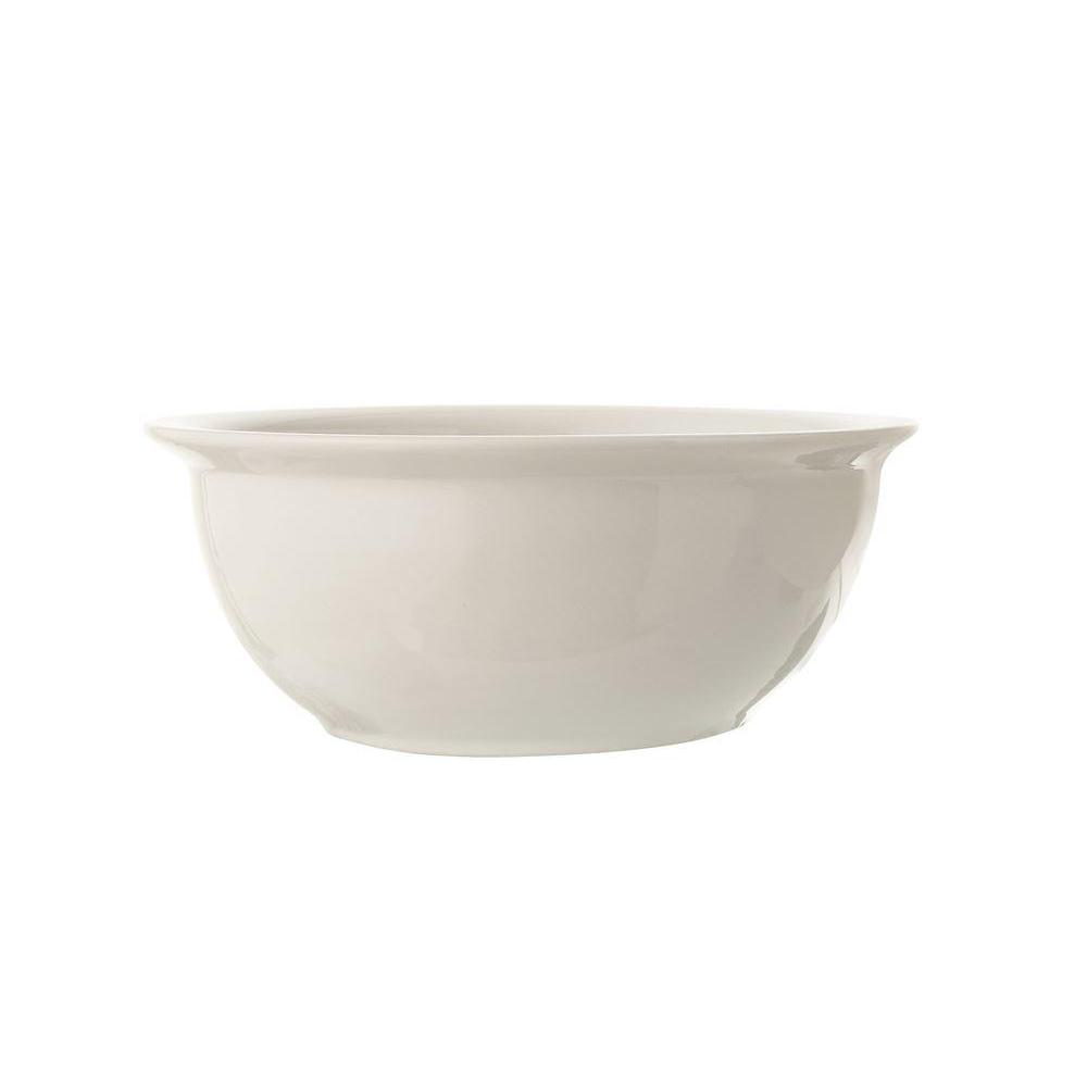 Bowl - Stoneware Vintage Reproduction - Antique White