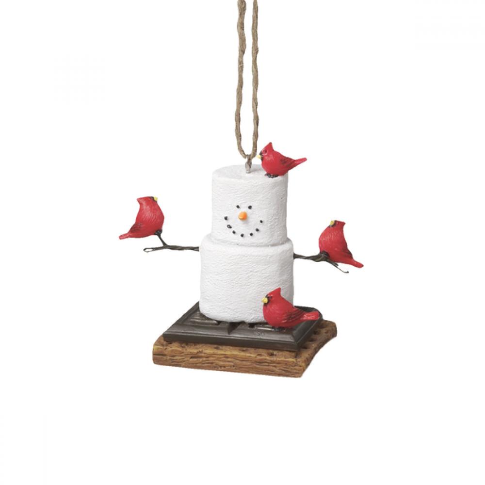 Ornament - Smores Cardinal
