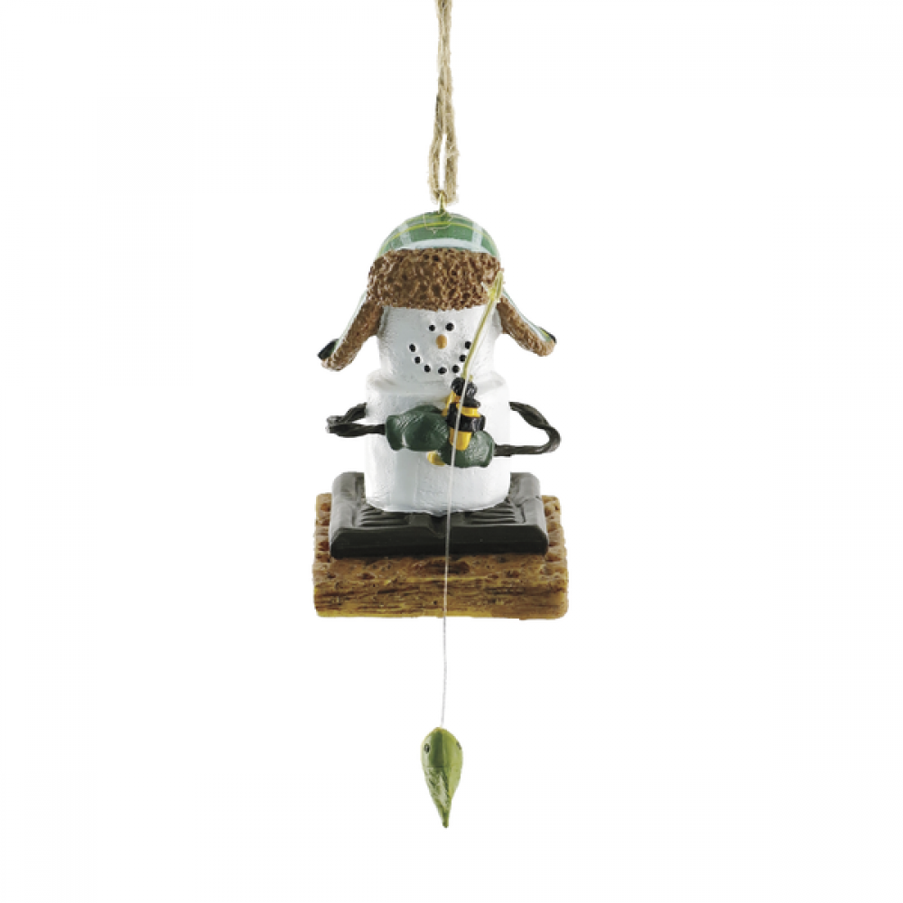 Ornament - Smores Ice Fisherman