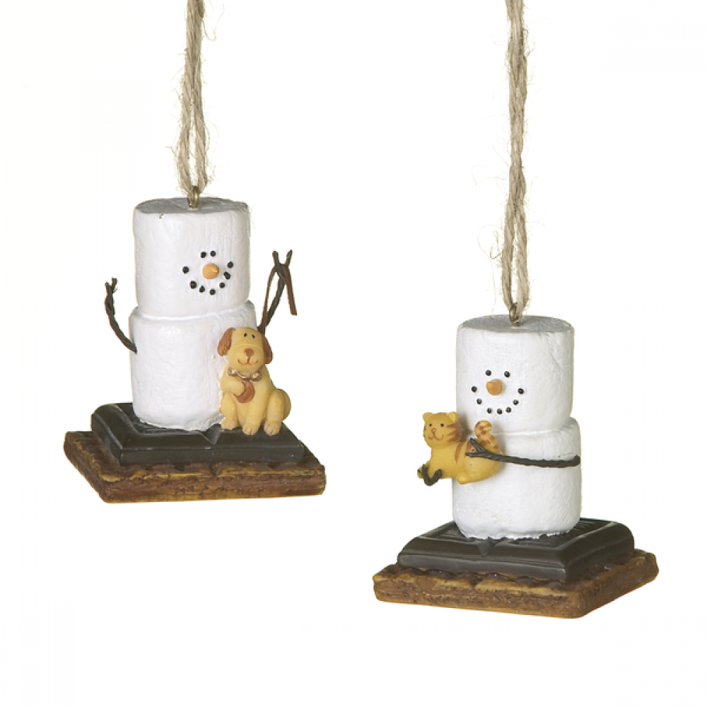 Ornament - Smores Puppy And Kitten